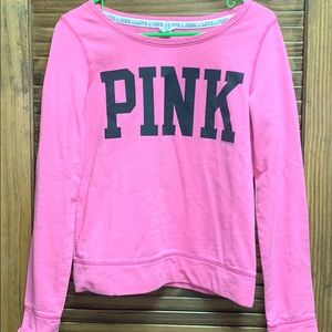PINK Victoria's Secret crew neck sweatshirt